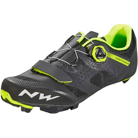 Northwave Razer Shoes Herre black/yellow fluo
